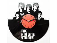 Виниловые часы The Rolling Stones Роллинг Стоун