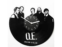 Виниловые часы Океан Ельзи  Okean Elzy