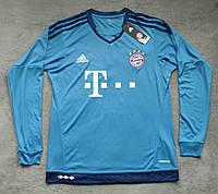 Футбольная форма Бавария Мюнхен 2015-2016 голубая
