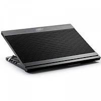 """Подставка для ноутбука до 17"""" DeepCool N9, Black, 18 см вентилятор"""