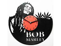 Виниловые часы Bob Marley Боб Марли