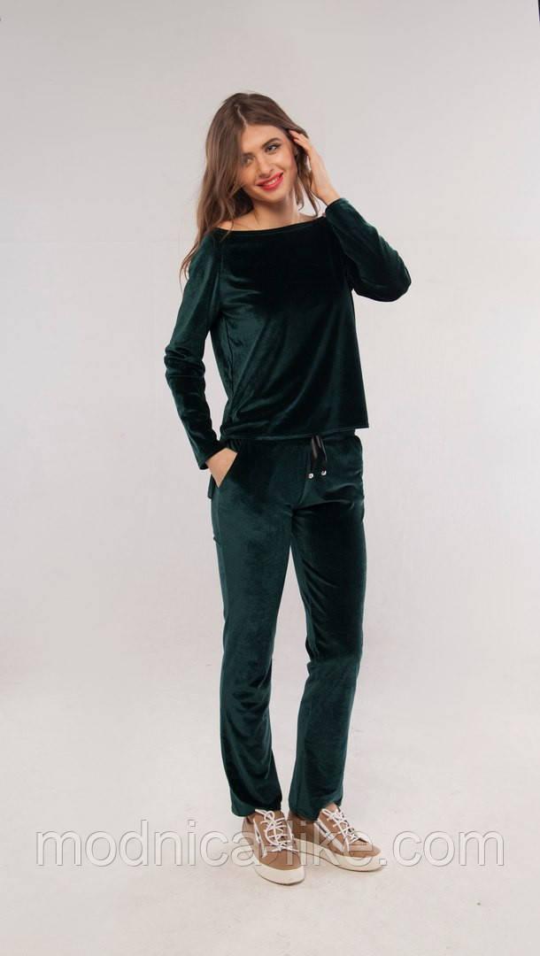 Спортивный костюм велюр Кетти Х13 в расцветках