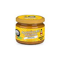 Паста арахисовая соленая хрустящая ТМ Мастер Боб, 200гр