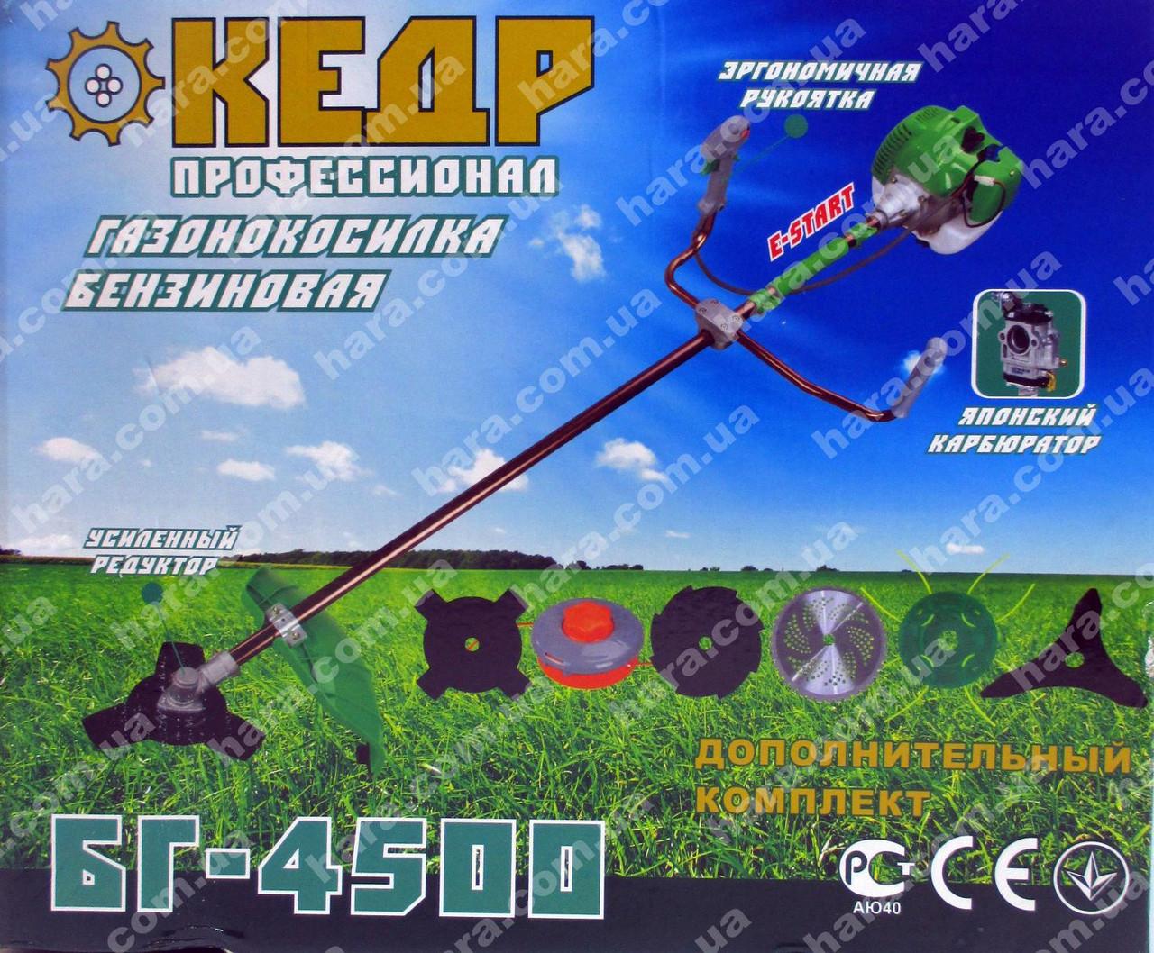 Бензокоса КЕДР БГ-4500 (4500 Вт)