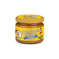 Паста арахисовая  с кокосом ТМ Мастер Боб, 300гр