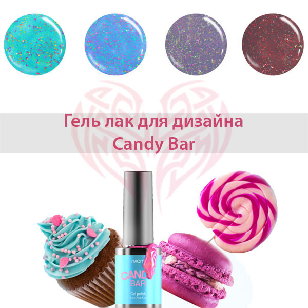 Гель лак Naomi Candy bar
