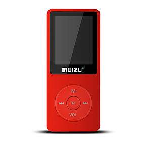 MP3 Плеер RuiZu X02 8Gb Original Красный, фото 2