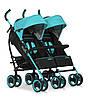 Прогулочная коляска для двойни EasyGo Duo Comfort Malachite