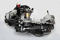 """Двигатель   4T GY6 80cc   (139QMB, короткий)   (10"""" колесо)."""