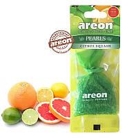 Ароматизатор Areon PEARLS Citrus Squash / Цитрусовый сквош