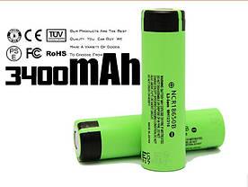 18650 Panasonic 3400mAh оригинальный аккумулятор Реальная ёмкость