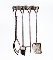 Кованый набор для камина Hansa (старая бронза)