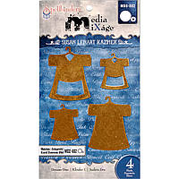 Металлические фигурки Spellbinders - Media Mixage - Dresses One MB6-002