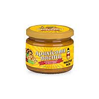 Паста арахисовая с изюмом и корицей ТМ Мастер Боб, 200гр