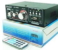 Аудио усилитель AK-698D  мощности звука MP3 с караоке, фото 1