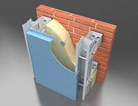 Сканрок система навесного вентилируемого фасада