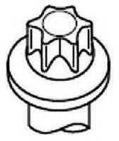 Болт головки блока 307 | 206 | C4 | C3 1.4 16V 03- (1 шт.) CITROEN/PEUGEOT 0204A5 на PEUGEOT 206 SW (2E/K)