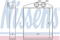 Радиатор печки Combo 01> NISSENS 72661 на VAUXHALL COMBO Mk II (C) фургон/универсал (F25)