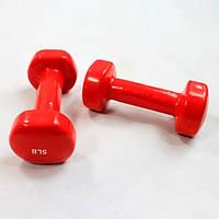 Гантели для фитнеса 5LB 2шт * 2270гр.