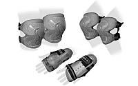 Защита спорт. наколенники, налокот., перчатки детская ZEL