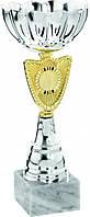Кубок  21cm Италия, мрамор, металл, пластик