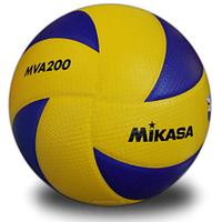 Мяч волейбольный Клееный PU MIK MVA-300 (PU, №5, 5 сл., клееный)