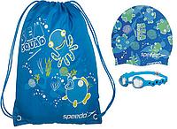 Набор для плавания детский: очки, шапочка, сумка SPEEDO  SQUARD POOL