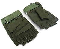Перчатки тактические BLACKHAWK (PL, открытые пальцы, р-р L-XL, оливковый)