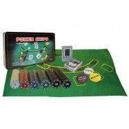 Покерный набор в метал. коробке-300 IG-4394