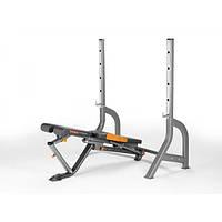 Скамья атлетическая+ стойка для штанги YORK-45027