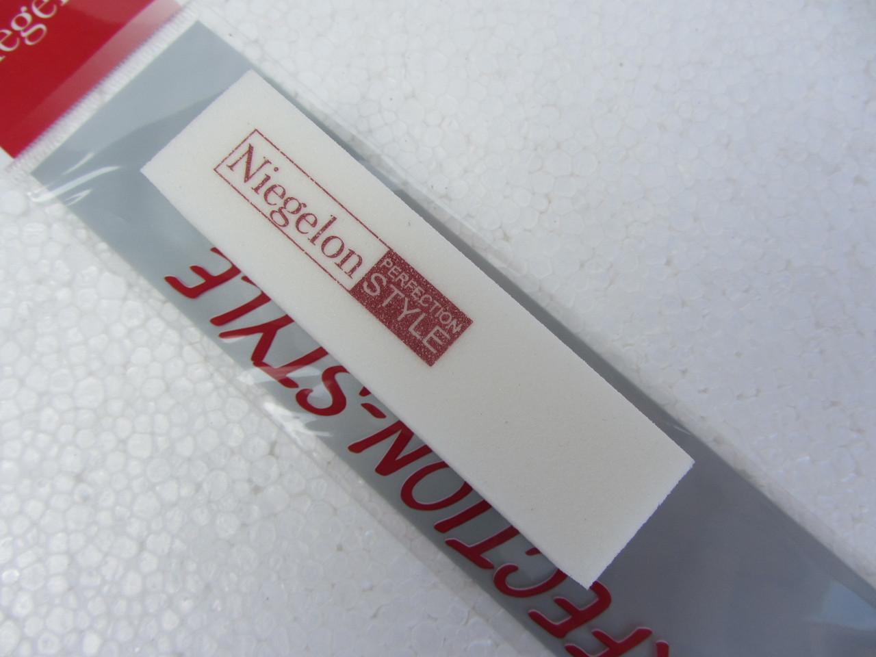 Бафик шлифовочный Niegelon белый 4х сторонний 180*180