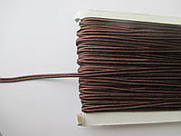 Сутажный шнур Сутаж 3 мм коричневий 295
