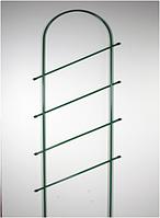 Шпалера садовая для растений Лесенка-2 металлическая (1300х550 мм) Белорусь GP-012