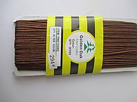 Сутажный шнур Сутаж 3 мм коричневий світлий 294