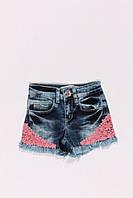 Шорты джинсовые для девочек  BREEZE (134-158)