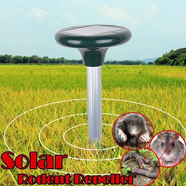 Отпугиватель мышей, кротов на солнечной батарее Solar Rodent Repeller купить Киев - «Качество-Гарант» в Киеве