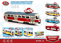 "Модель трамвай PLAY SMART 9708A ""Автопарк"""