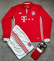 Футбольная форма Бавария Мюнхен 2016-2017 красная