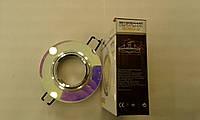 Встраиваемый  светильник Feron 8050 MR16 7-мультиколор (цвет корпуса серебро), фото 1