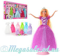 Кукла с одеждой Defa Lucy 8266: 8 нарядов + аксессуары