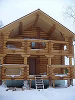 Продается экологический дом из сруба с террасой у воды. 280 м2