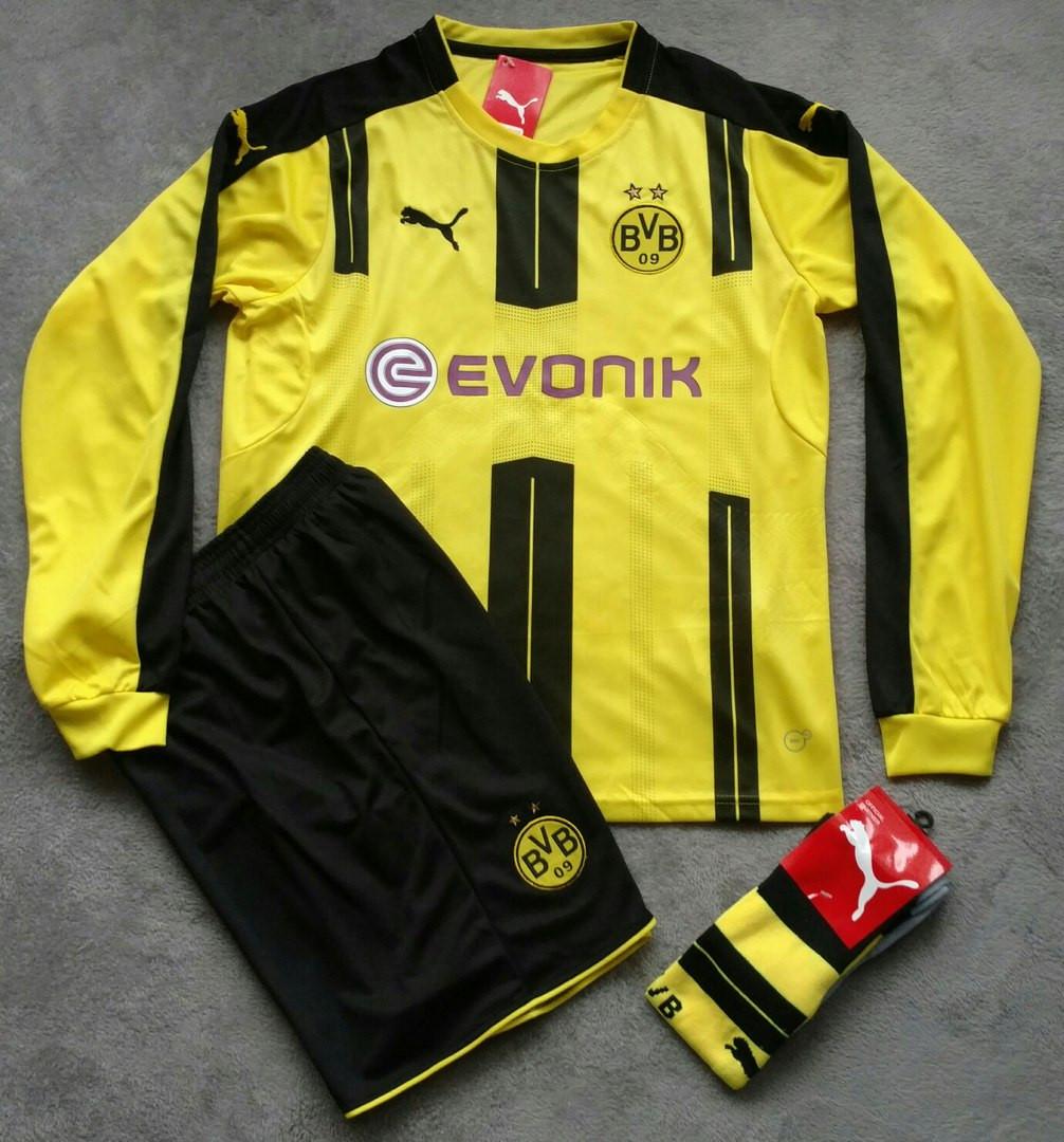 Футбольная форма Боруссия Дортмунд 2016-2017 желтая