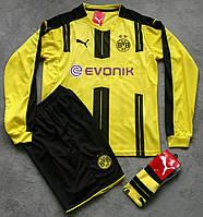 Футбольная форма Боруссия Дортмунд 2016-2017 желтая, фото 1