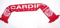 Шарф футбольный CARDIFF , Acryl, Как Новый