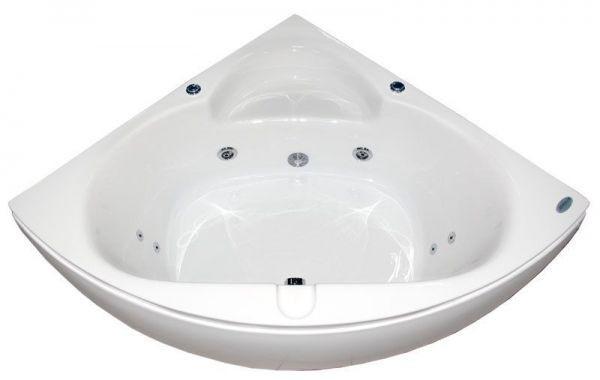Ванна гидромассажная Appollo AT-970 (140х140х62 см) со смесителем