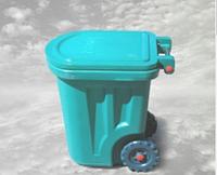 Контейнер для мусора пластиковый 90л