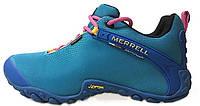 Женские кроссовки Merrell Continuum Gore-Tex Blue (Меррел) синие