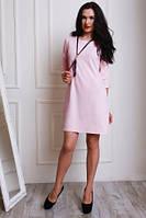 Интересное платье А-силуэта с модной подвеской