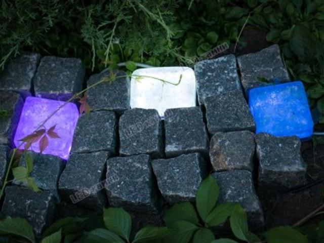 LED-камень ЭкоПарк RGB (Управление цветом освещения), 74х74х48