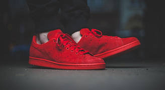 Кроссовки Аdidas Stan Smith Full Red